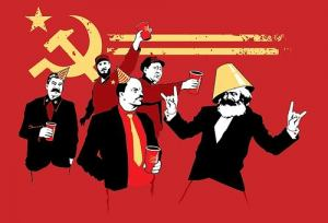 Laughing Commies